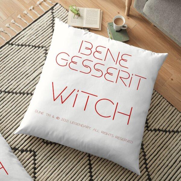 BENE GESSERIT WITCH Floor Pillow