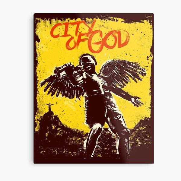 Cidade de Deus = City Of God Poster Metal Print