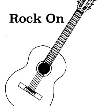 Rock On Guitar by ranc1