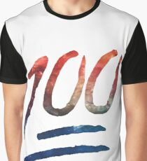 100 emoji Graphic T-Shirt