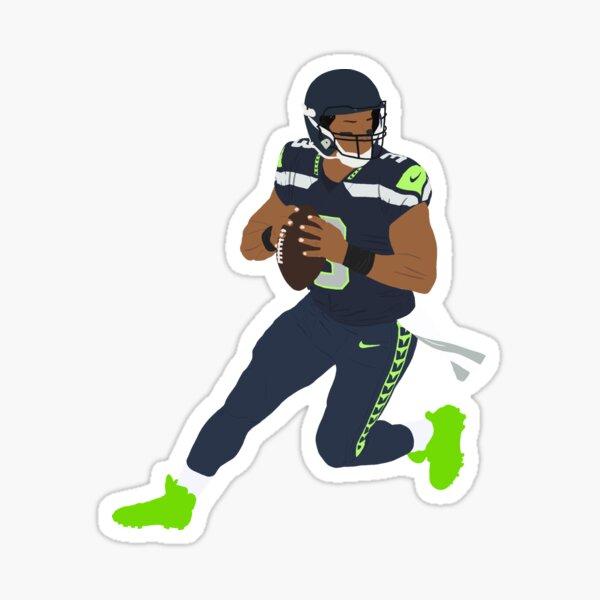 Seahawks Russel Sticker