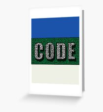 Break the Code Labyrinth Challenge Greeting Card