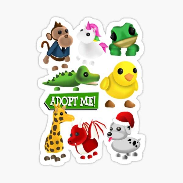 Adopt Me Roblox T-ShirtAdopt me Roblox, Big Family Sticker