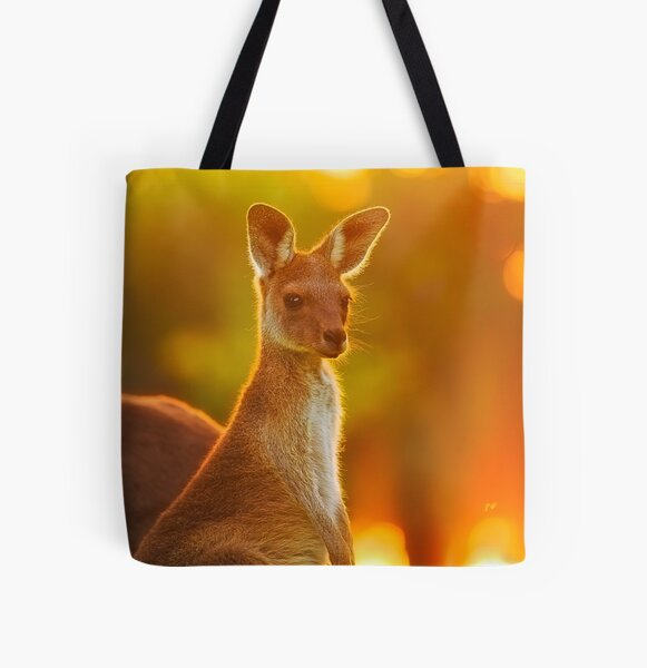 Sunset Joey, Yanchep National Park All Over Print Tote Bag