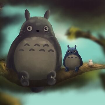 Totoro and his Friends by katarsi