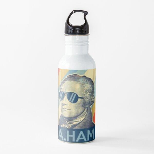 Alexander Hamilton Wearing Aviator Sunglasses Water Bottle