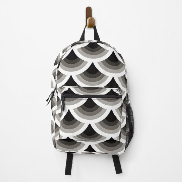 Japanese traditional pattern: Nami (Wave) Backpack