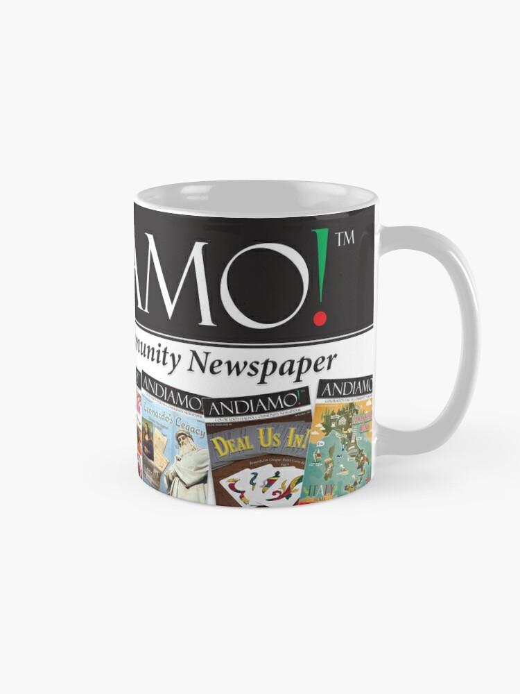 Alternate view of Andiamo Headline Mug Mug