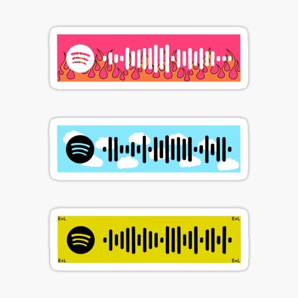 Custom Spotify Codes - Lisa Sticker