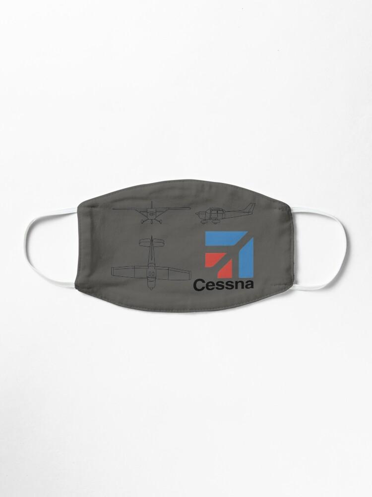 Alternate view of cessna logo Mask