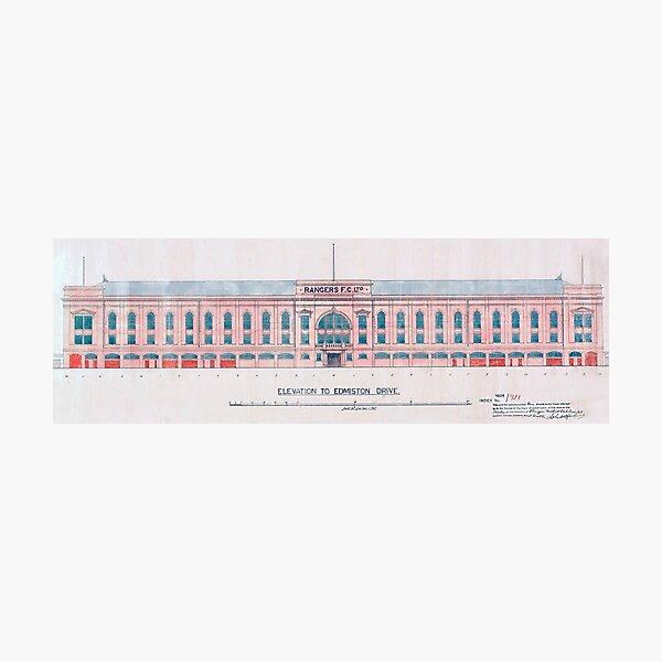 Archies main stand panorama print 3 to 1 ratio Photographic Print