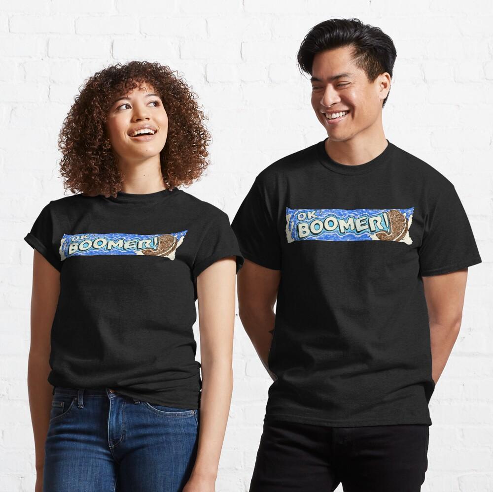 OK Boomer (Black) Classic T-Shirt