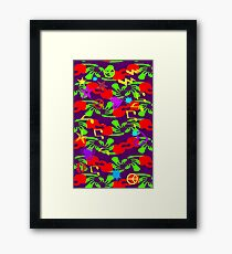MUSIC & LOVE Abstract 1 Framed Print