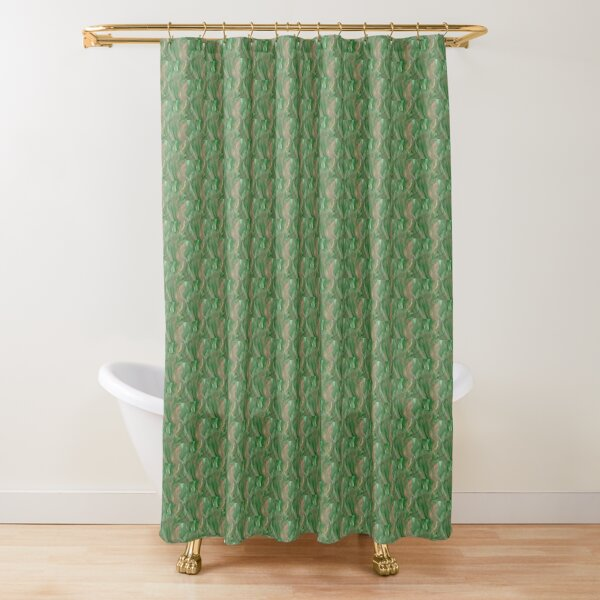 Garden greenery Shower Curtain