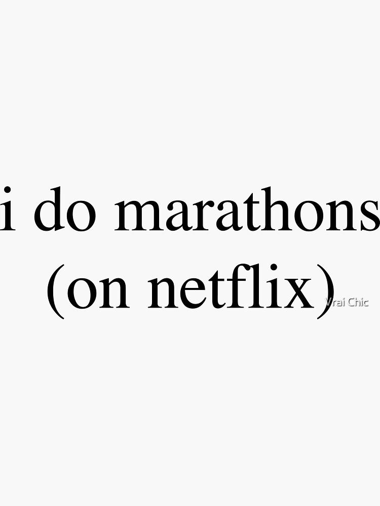 I Do Marathons... Hipster/Trendy/Tumblr Meme by vrai-chic