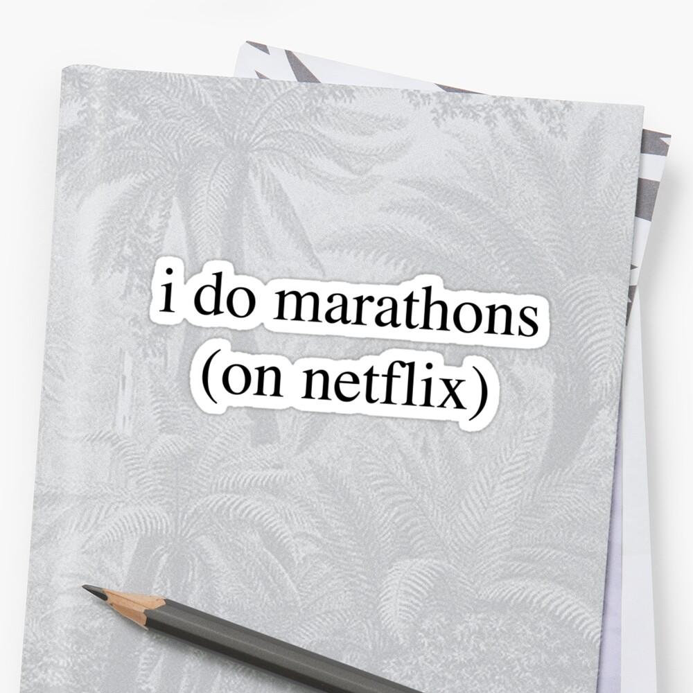 I Do Marathons... Hipster/Trendy/Tumblr Meme by Vrai Chic