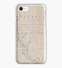 Civil War Maps 2120 Map of the Red River campaign March 10-May 22 1864 iPhone Case/Skin
