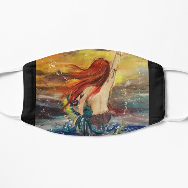 Life's a Beach Flat Mask