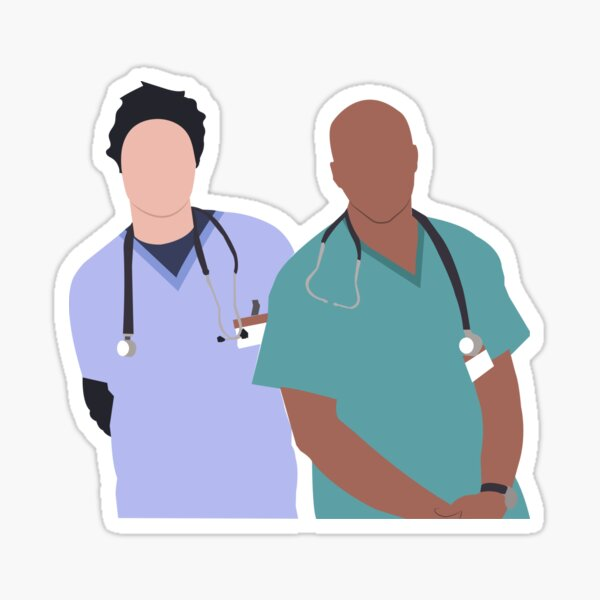 Fake Doctors Real Friends Sticker