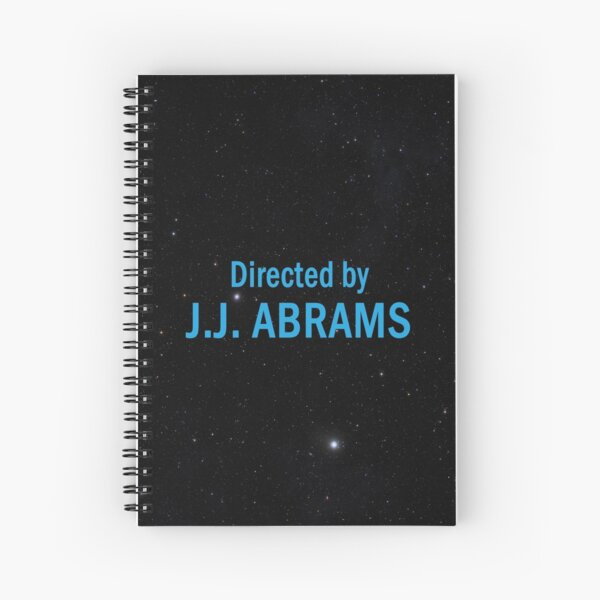 Directed by J. J. Abrams Spiral Notebook