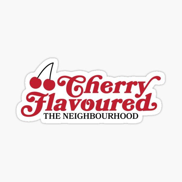 Con sabor a cereza, The Neighborhood Shirt, The Neighborhood Merch, The Neighborhood Merch, The NBHD, The NBHD Shirt, Hoodlum Shirt Pegatina