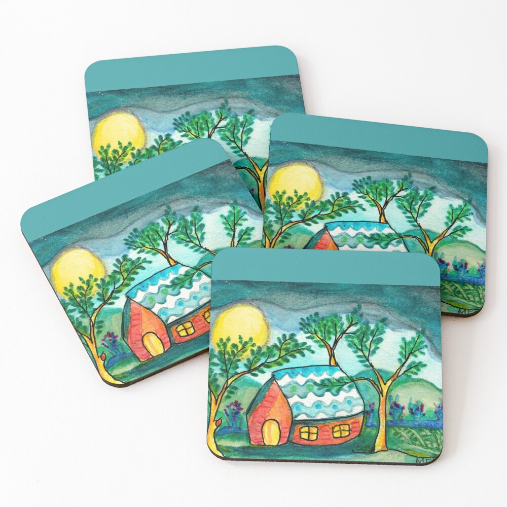 Home Sweetest Home Coasters (Set of 4)