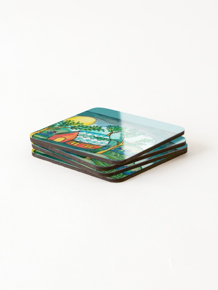 Alternate view of Home Sweetest Home Coasters (Set of 4)