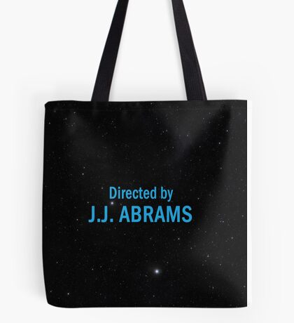 Directed by J. J. Abrams Tote Bag