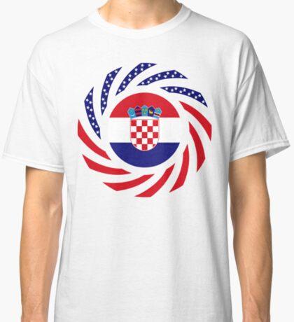 Croatian American Multinational Patriot Flag Series Classic T-Shirt