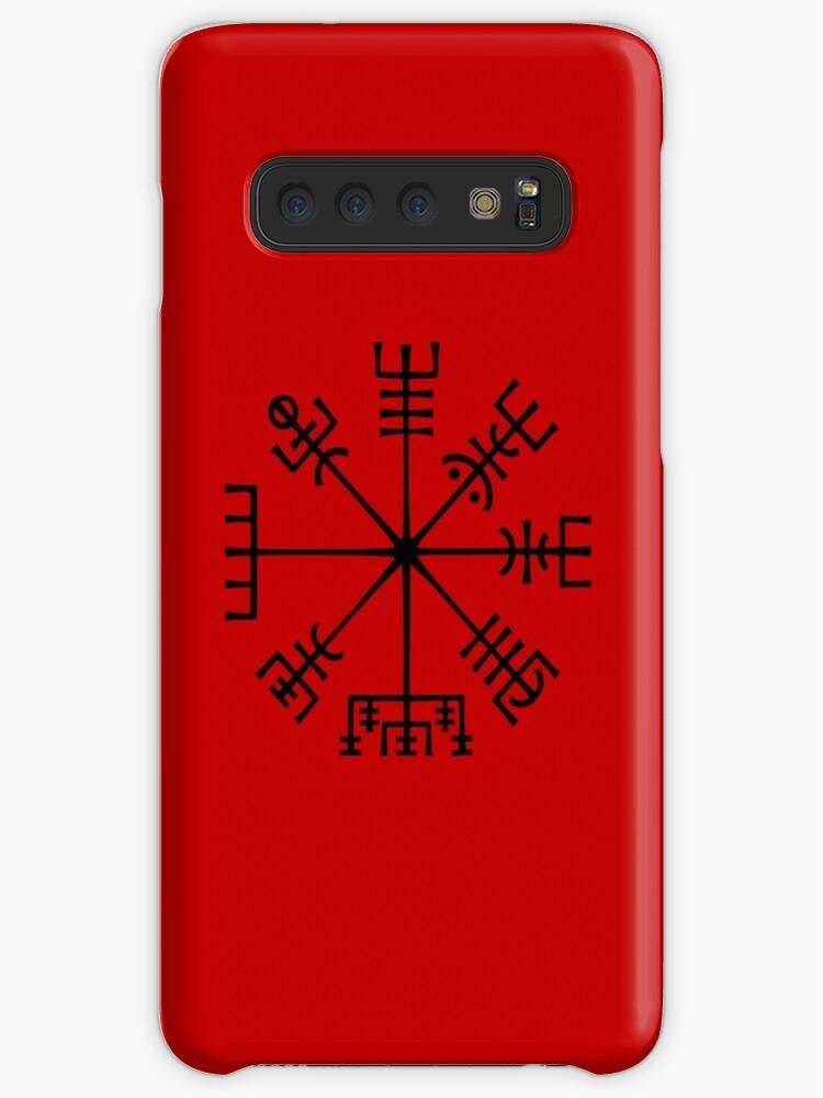 'Vegvisir, Viking Compass' Case/Skin for Samsung Galaxy by MarleenaBarran