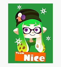 Splatfest Team Nice v.2 Photographic Print