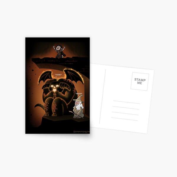 Wizardly Shenanigans Postcard