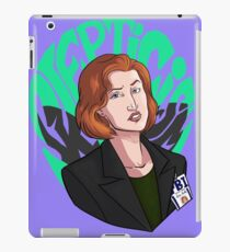 Scully ain't here for this iPad Case/Skin
