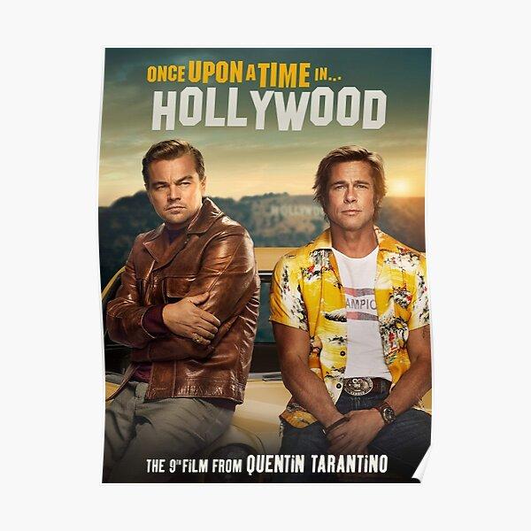 Il était une fois à Hollywood Poster