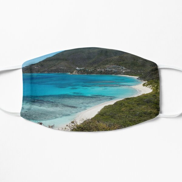 Caribbean Beach for One Person Flat Mask