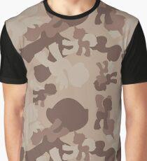 Brony Military Desert Camo Graphic T-Shirt