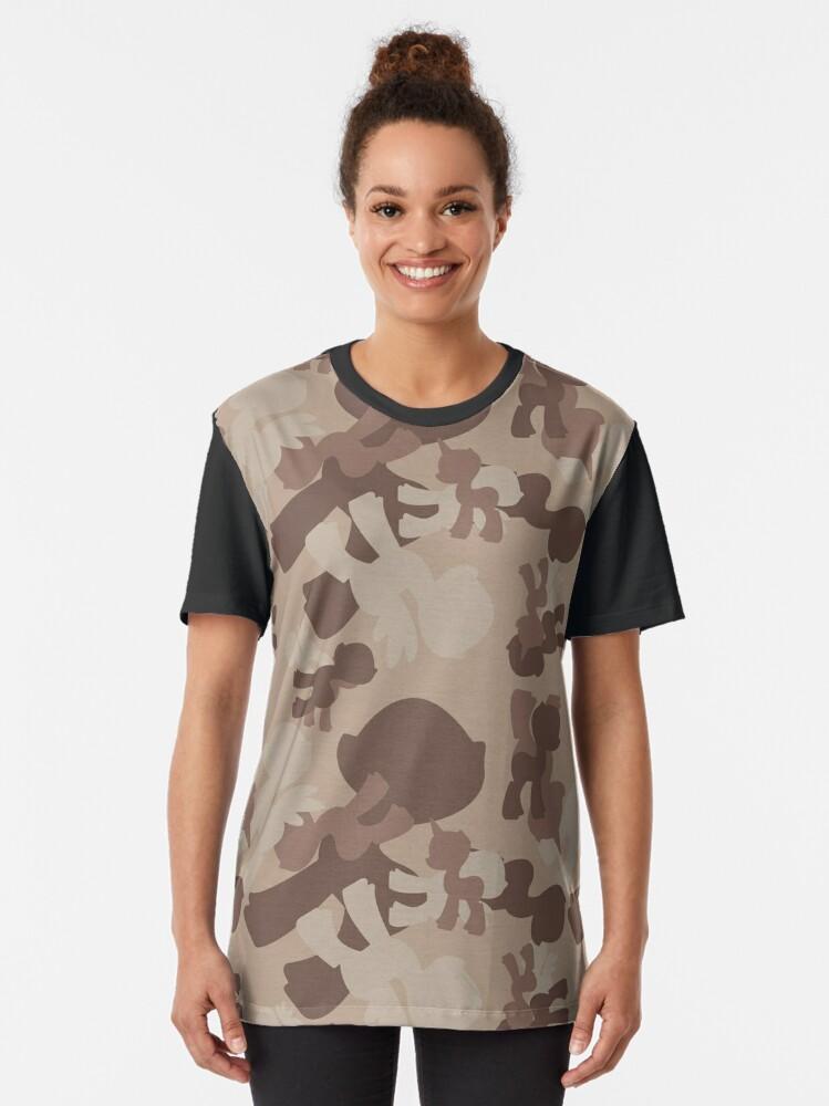 Urban Classics Damen T-Shirt Camo Back Shaped