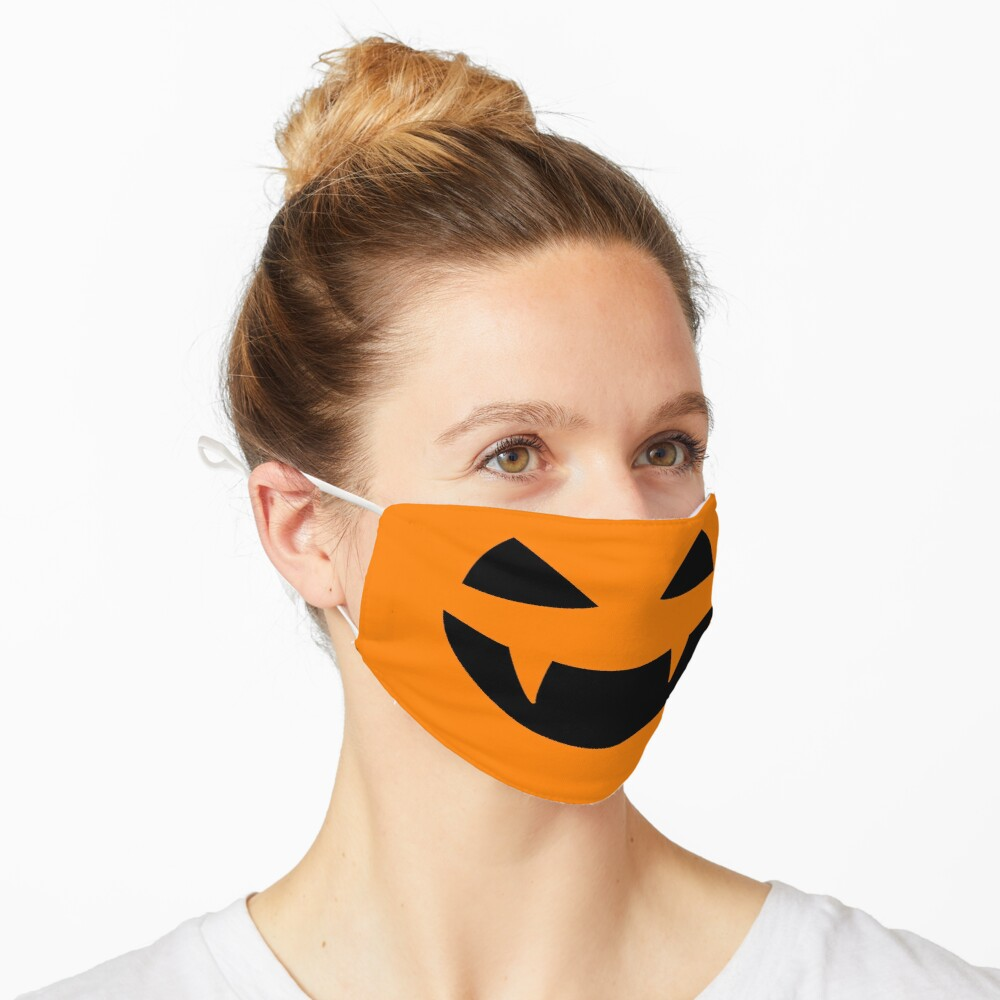 Halloween - Jack o lantern smile Mask