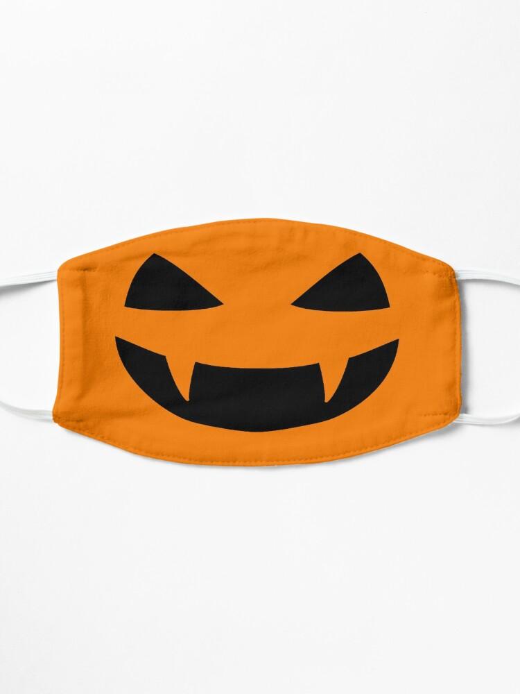 Alternate view of Halloween - Jack o lantern smile Mask