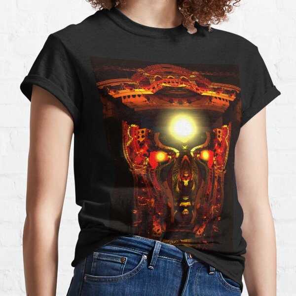 Mind Chamber by Spaced Painter Classic T-Shirt
