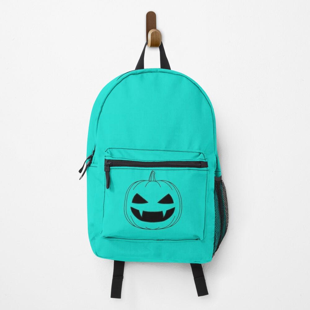 Halloween - Jack o lantern transparent Backpack