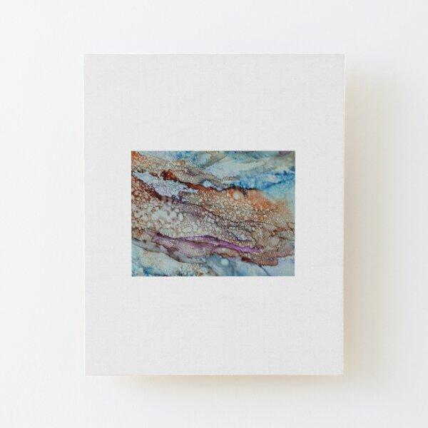 Desert Mountain Dreaming Wood Mounted Print