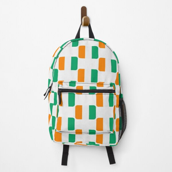 Côte d'Ivoire Ivory Coast Flag Ivory Coast Independence Day Gift for Proud  ‎Ivoirian Backpack