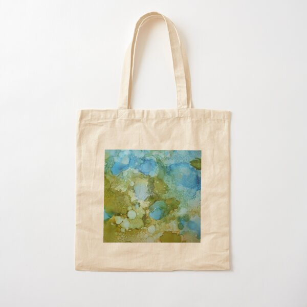 Trees in Reflection Cotton Tote Bag