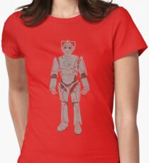 Cyberman/ Doctor Who Womens Fitted T-Shirt