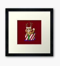 No Christmas for Kitty Framed Print