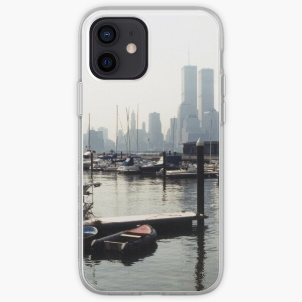 Manhattan from New Port Yacht Club iPhone Soft Case