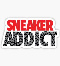 Sneaker Addict Cement Sticker
