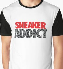 Sneaker Addict Cement Graphic T-Shirt