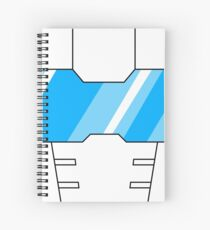 Tailgate Face Spiral Notebook